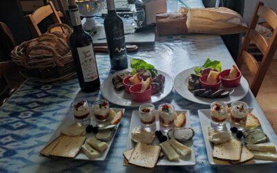 Les soirées dégustations vins, fromages, charcuteries du terroir!