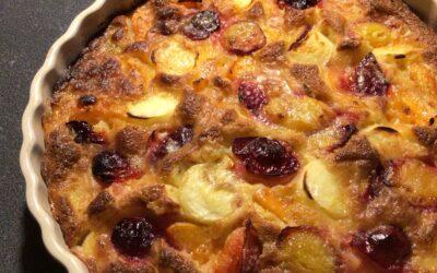 Une recette toute simple et gourmande à faire avec des fruits d'été!